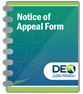 Notice of Appeal Form