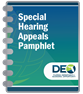 Special Hearing Appeals Pamphlet