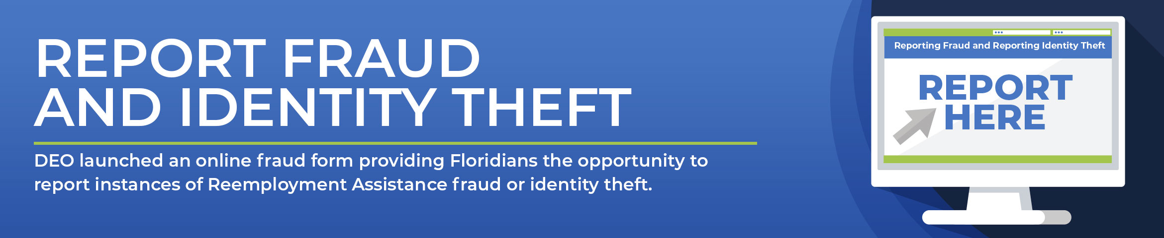 Report Fraud and Identity Theft
