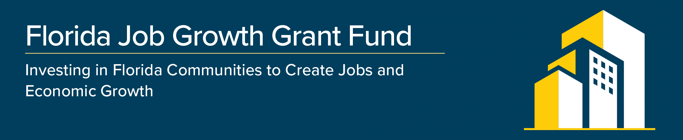 Florida Job Growth Grant Fund